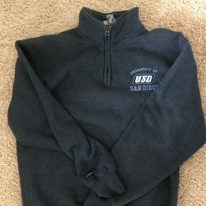 University of San Diego Womens Jansport Qtr Zip